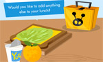 Make a Healthy lunchbox game