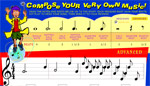 Compose your own music website