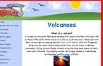 Weather Kids website- Volcanoes